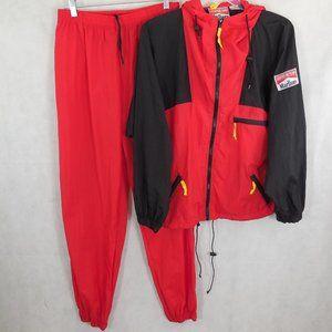 Marlboro Adventure Team Track Suit size L VTG RARE